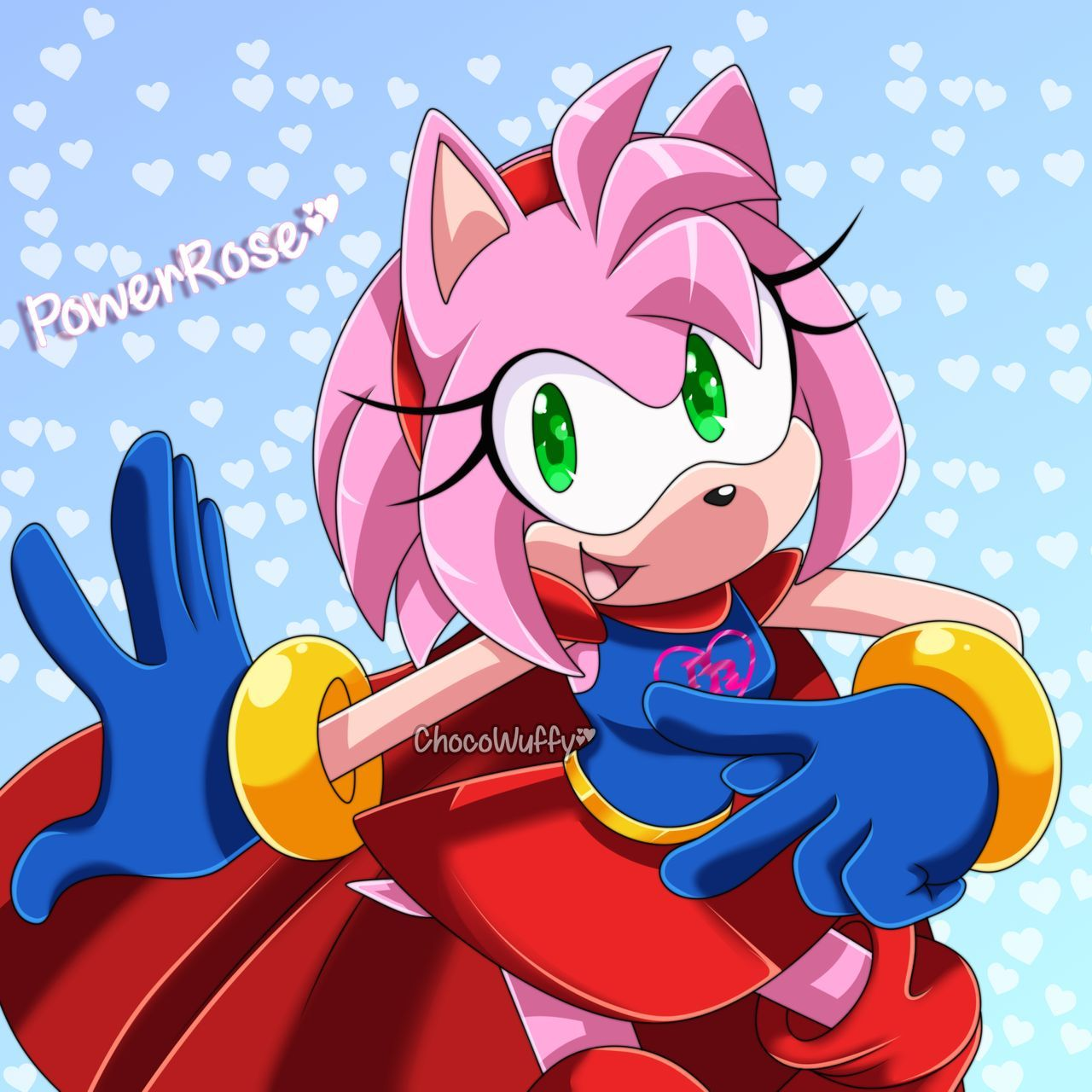 Power Rose Comm By Nyanpopink On Deviantart Sonic Rose Pictures Anime