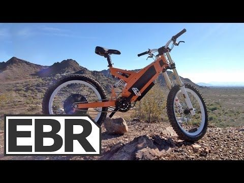 Stealth Fighter Electric Bike Review Youtube With Images
