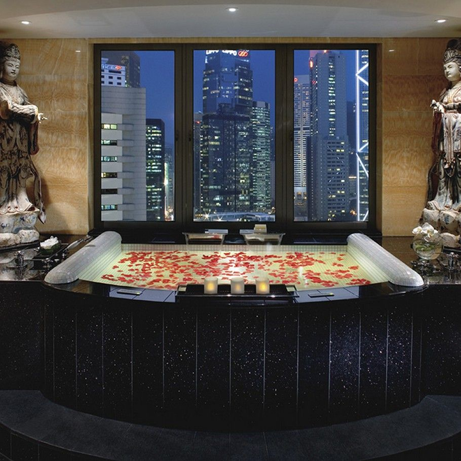 Mandarin Oriental Hong Kong  It's even more beautiful than a picture can capture