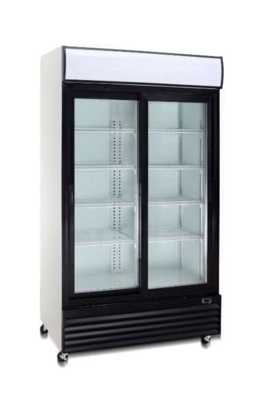 Clearance Sale Brand New Single Door X2f Double Door X2f Counter Top Model Display Pop Cooler Display Refrigerator Refrigerator Sale Commercial Glass Doors