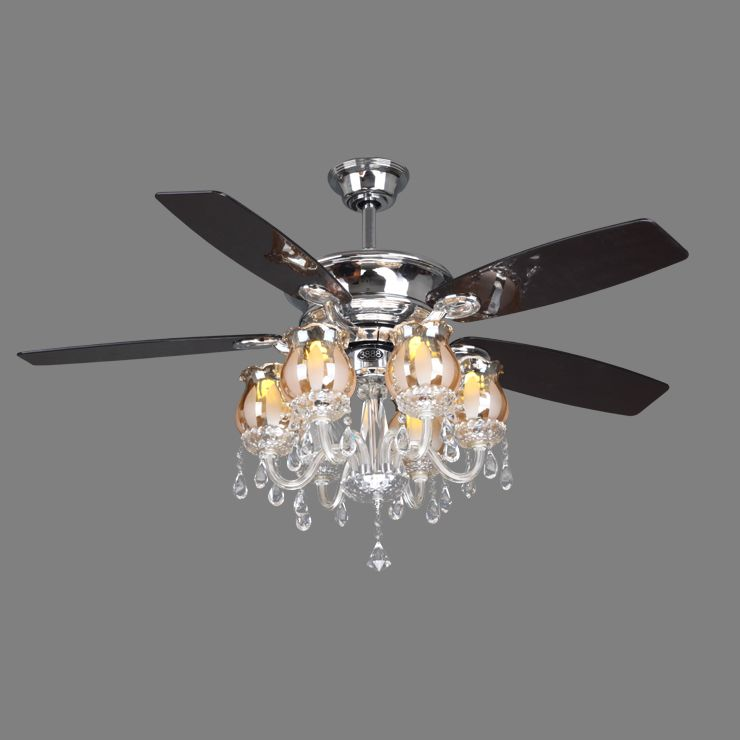Silver ceiling fan with light inspirations modern ceiling design