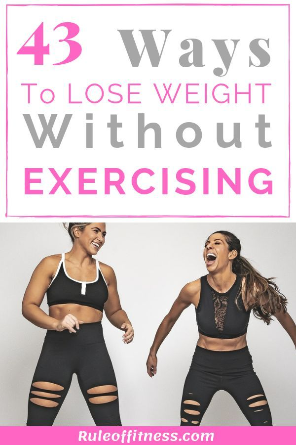 Exercise weight want hate lose but to
