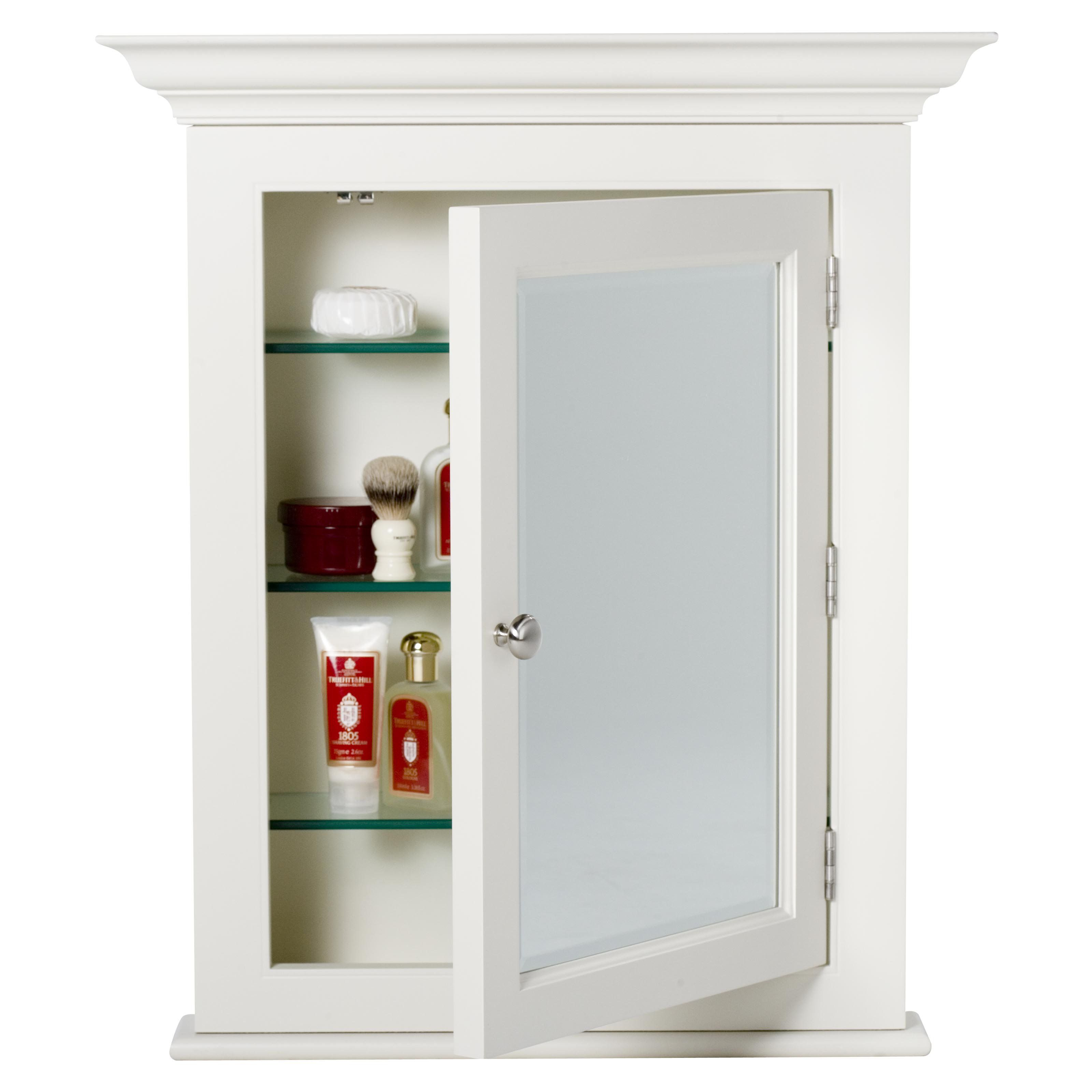 Have To Have It Afina Wilshire Ii Small Semi Recessed Medicine Cabinet 640 5 H Recessed Medicine Cabinet Bathroom Medicine Cabinet Small Bathroom Cabinets