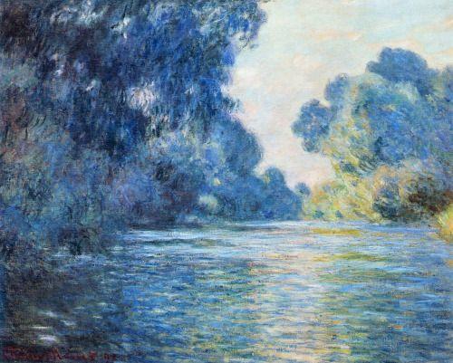 Claude Monet, Mañana en el Sena, 1897