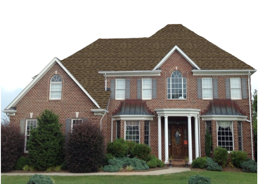 Best Barkwood Brick Exterior House Architectural Shingles 640 x 480