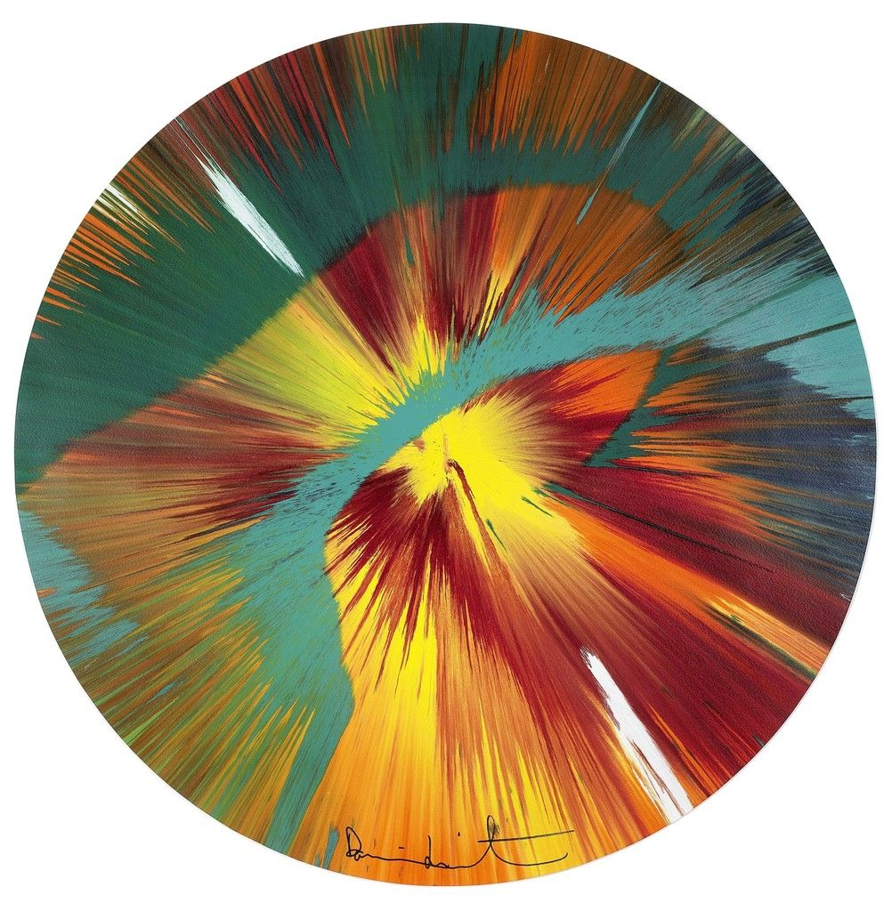 Beautiful Paper Spin for Situation Gigi | Damien Hirst, Beautiful Paper Spin for Situation Gigi (2012)