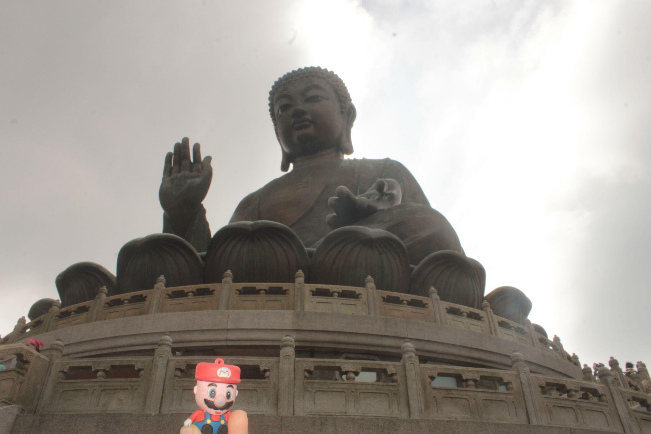 En la isla de Lantau visitando al Gran Buda