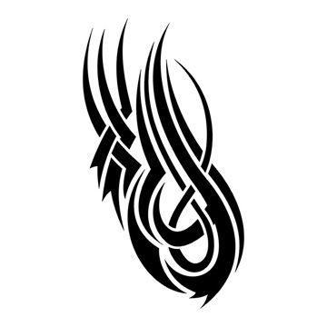 tatouage tribal epaule n 943 mod le tatouage tribal. Black Bedroom Furniture Sets. Home Design Ideas