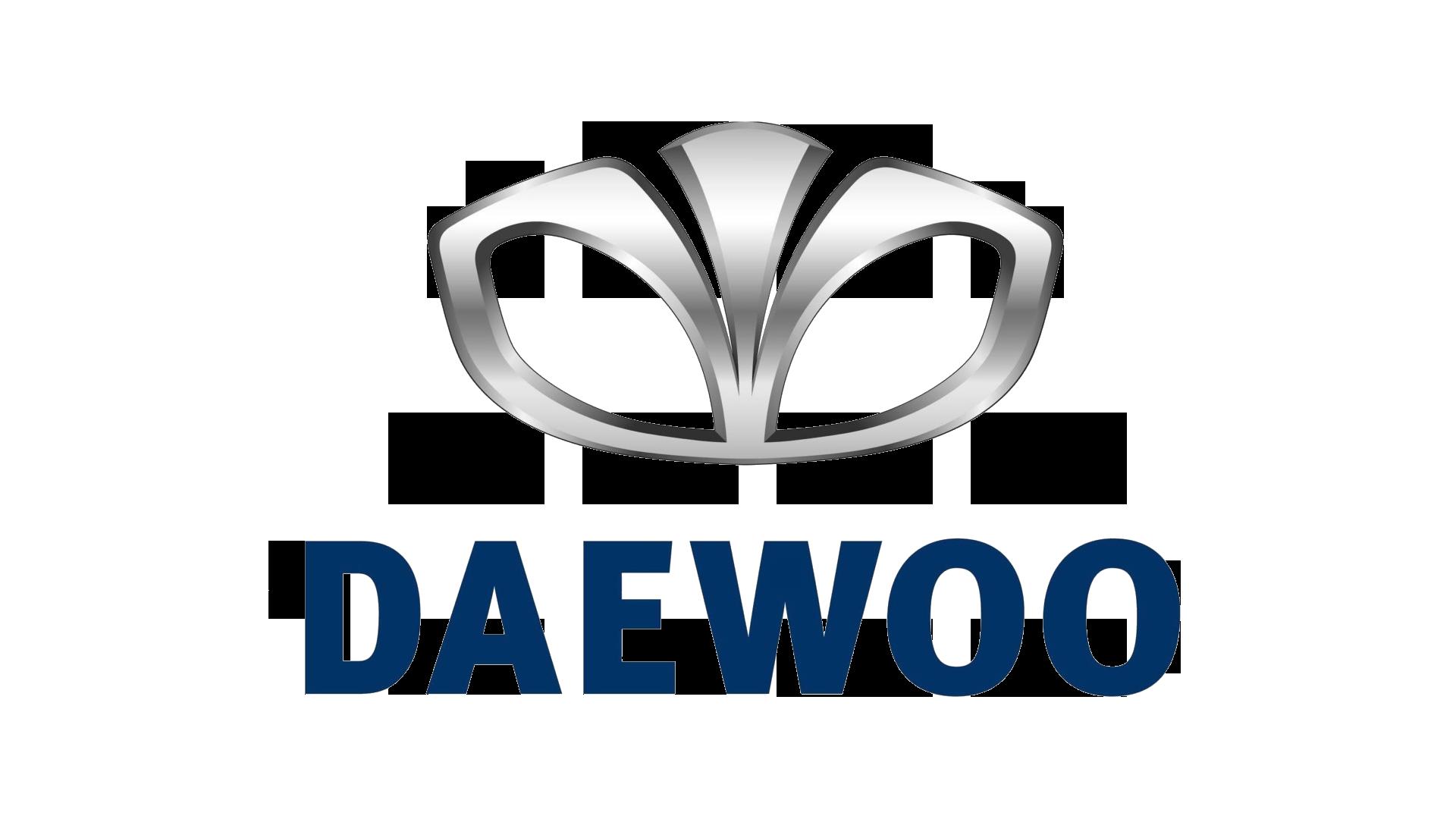 Daewoo Logo, HD Png, Information Car logos, Car emblem