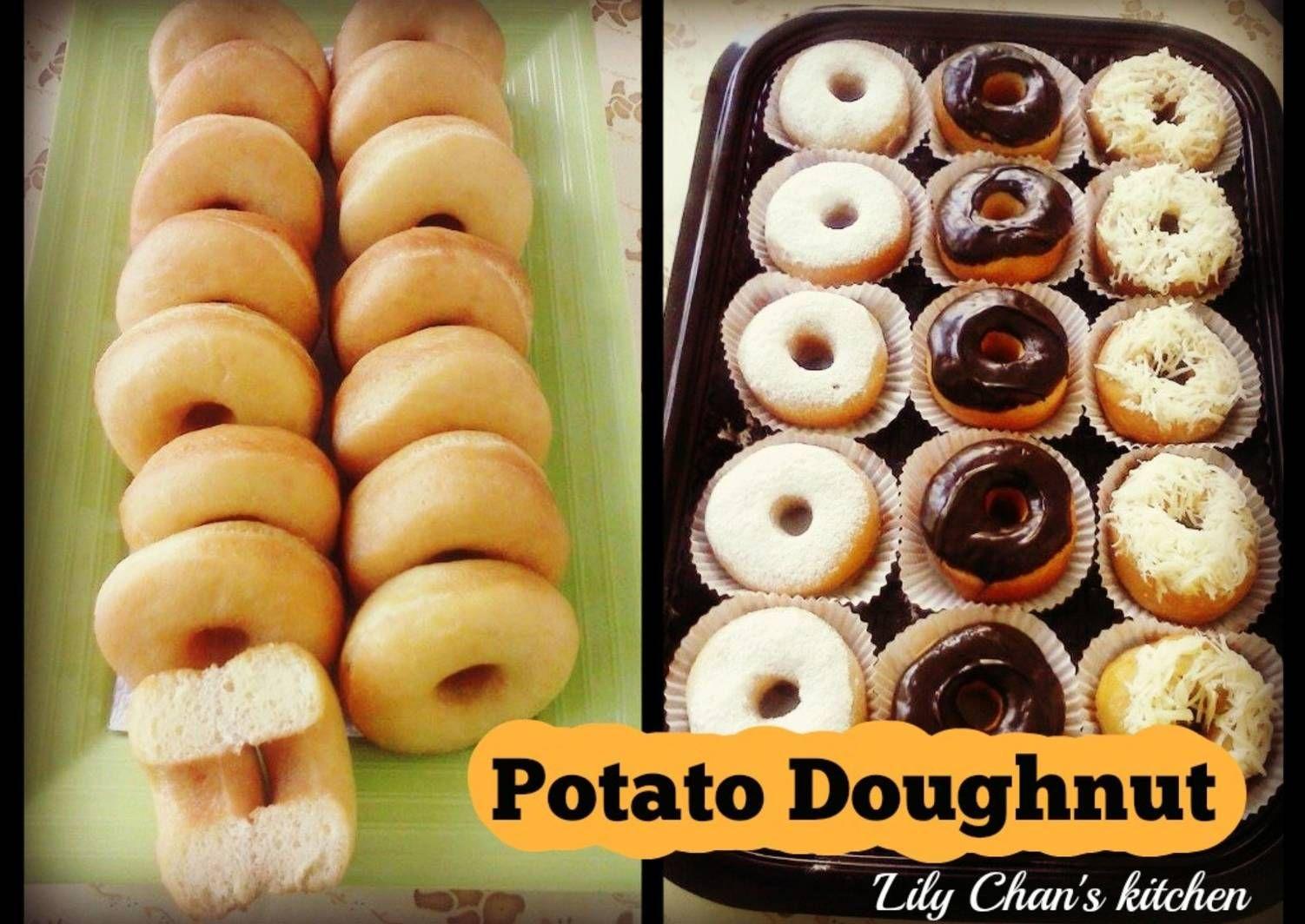 Resep Donat Kentang Ala Bu Fatmah Bahalwan Ncc Oleh Lily Chan S Kitchen Resep Resep Biskuit Resep Makanan Ringan Manis