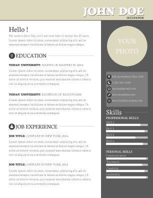professional resume that is sure to make your talents and skills stand out perfect for - Make My Resume Free Now