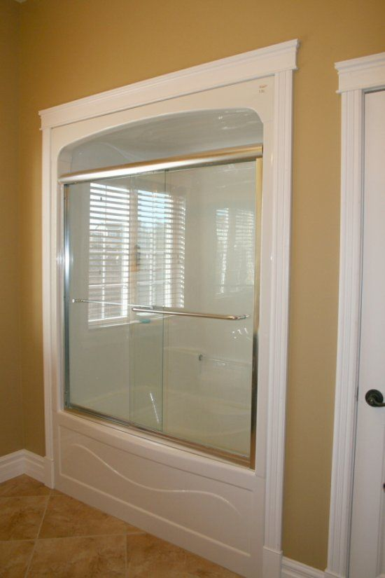 3 piece tub shower combo. tub shower enclosures one piece  framed Bathroom Pinterest