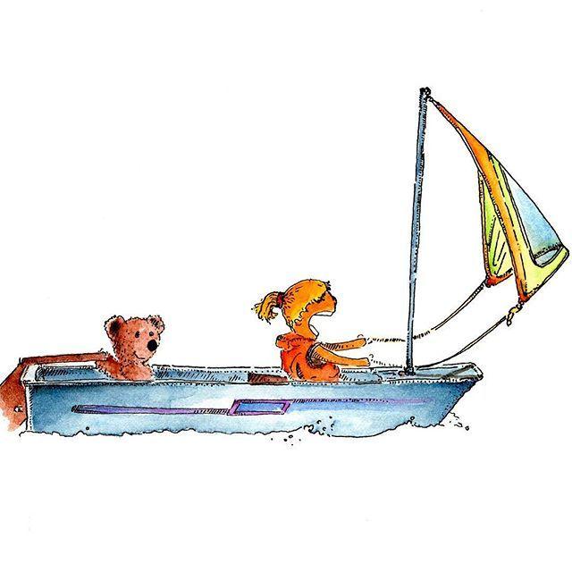 Sailing Pandawind Instagram Sailing Boat Kid Optimiste