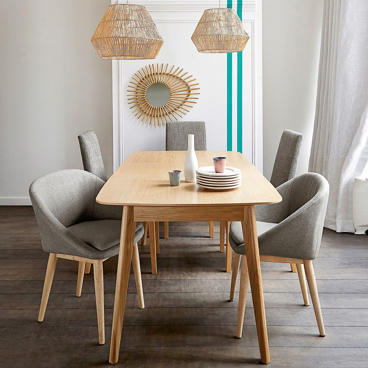 Biface Extendable Dining Table Seats 4 To 10 Minimalist Dining