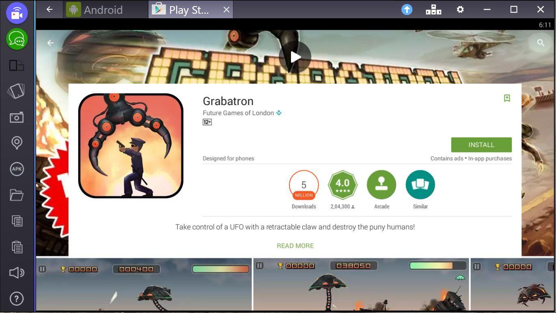 Grabatron für PC Online Kostenloser Download des Spiels