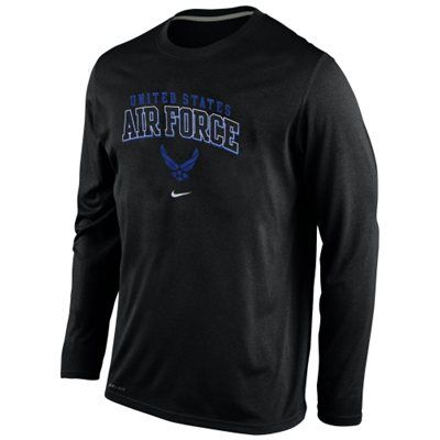 Air Force Falcons Nike Military Legend Long Sleeve Performance T-Shirt –  Anthracite