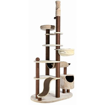 Trixie Nataniel Adjustable Cat Tree Wayfair Pets Petco Pet Supplies