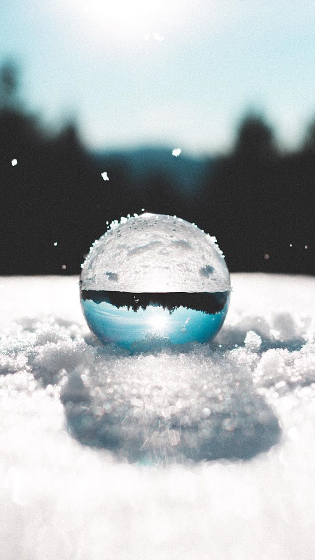 Hd wallpaper for j7 prime - Art Nature Wallpaper For Samsung Galaxy J7 Prime Background With Ball On Snow