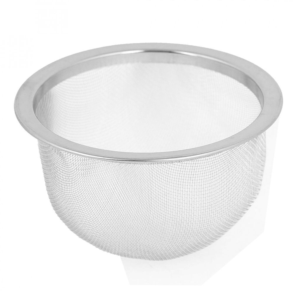 Strainer Basket Silver Stone Stainless Steel Wire Mesh For Home ...