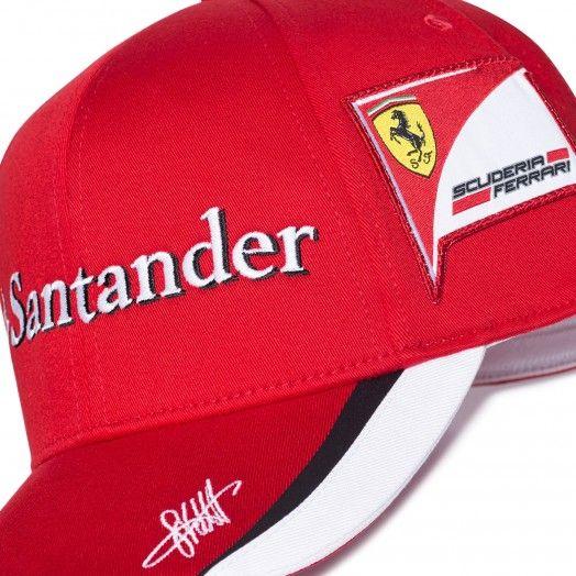 Cappellino Scuderia Ferrari Sebastian Vettel replica 2015 - Replica 2015 -  Scuderia Replica - Scuderia  Ferrari  FerrariStore  ScuderiaFerrari   Replica ... 29cc6a0bacec