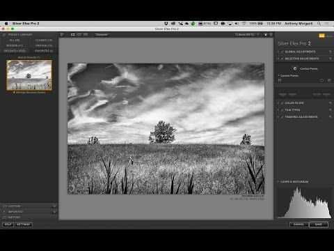 declaración alfiler Microordenador  Processing a Photo With Nik Silver Efex Pro 2 & Lightroom (Training  Tutorial) - YouTube | Photography software, Photoshop lightroom, Nik