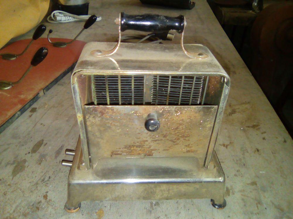 Ancien grille pain objet vintage toaster tostapane tostadora 烤面包机