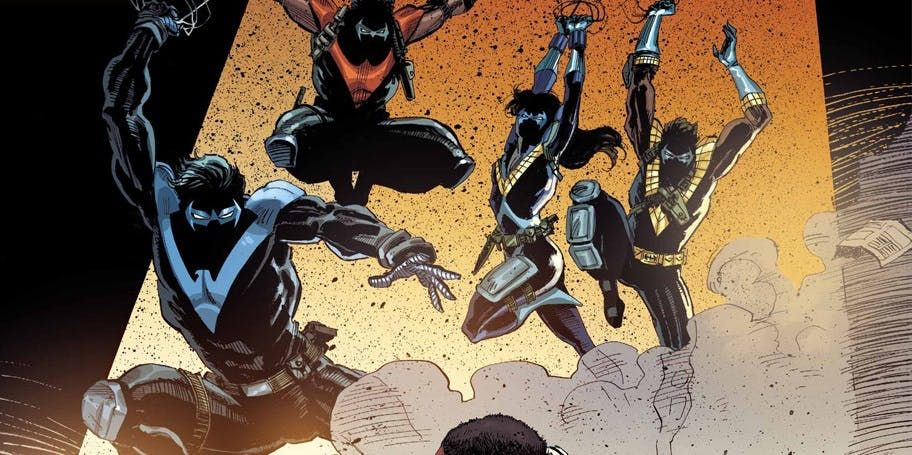 A Team Of Nightwings Comes To Dc S Universe With Images