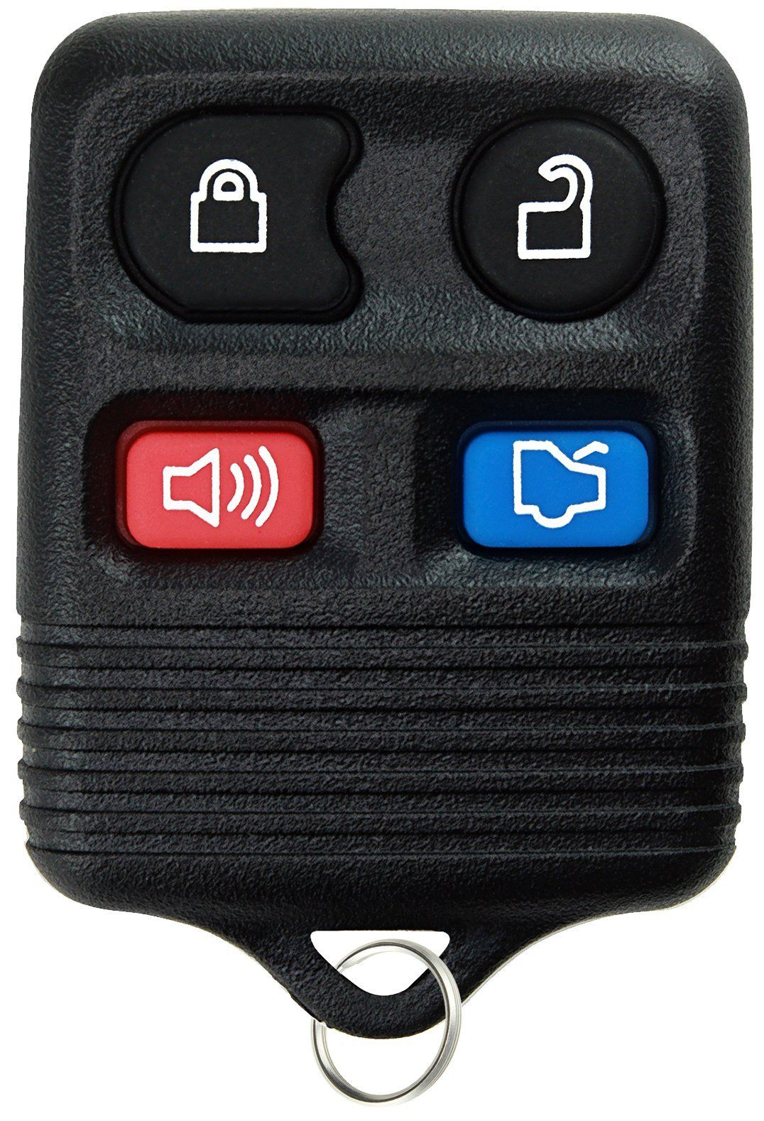 Keylessoption Replacement Keyless Entry Remote Control Car Key Fob Black Remote Control Cars Car Key Fob Lincoln Town Car