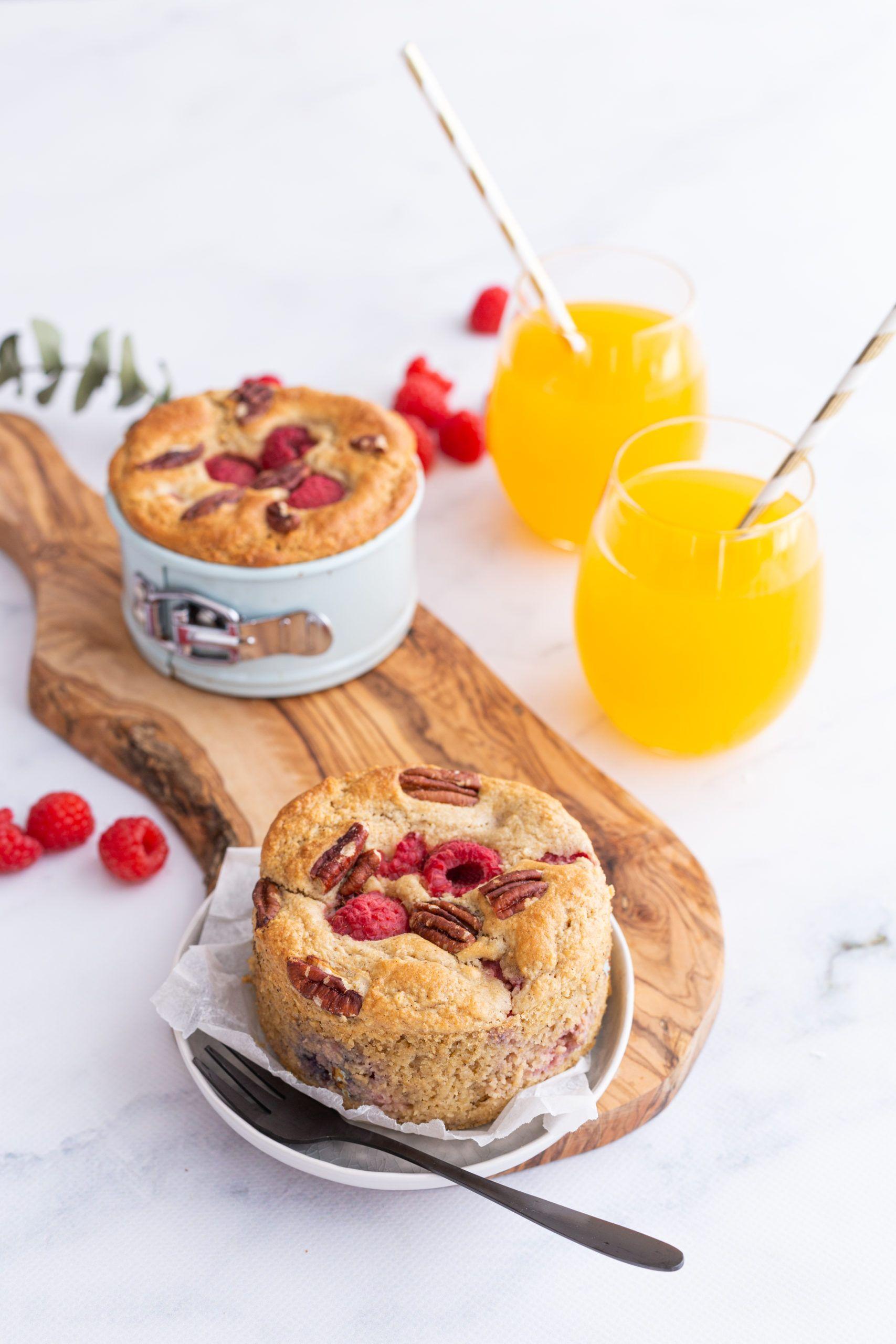 Glutenvrije ontbijttaartjes met frambozen en pecannoten - Oh My Pie!