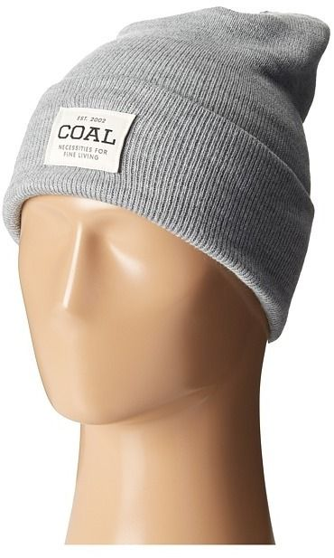 $20, Grey Beanie: Coal The Uniform. Sold by Zappos. Click for more info: https://lookastic.com/men/shop_items/315167/redirect