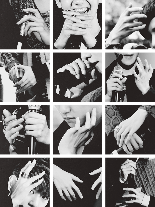 He got such beautiful fingers that he put shame to every women on earth. #HappyBaekhyunDay