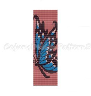 Loom PatternBOLD BLUE BUTTERFLYBead Loom by CajunsDesignPatternS, $6.50