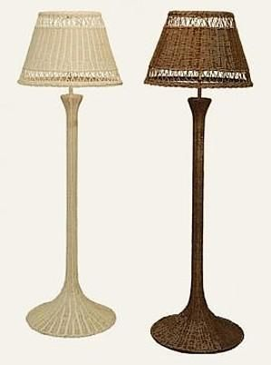 Wicker lamps shades table lamps floor lamps hanging lamps buy buy a ceiling swag lamps at the right price hard to find end table floor lamps in stock aloadofball Images