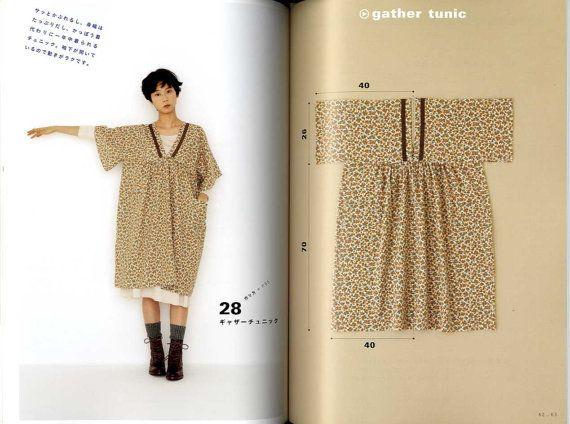 Yoshiko Tsukiori's Straight Stitch Apron and Apron Dresses - Japanese Craft Book MM