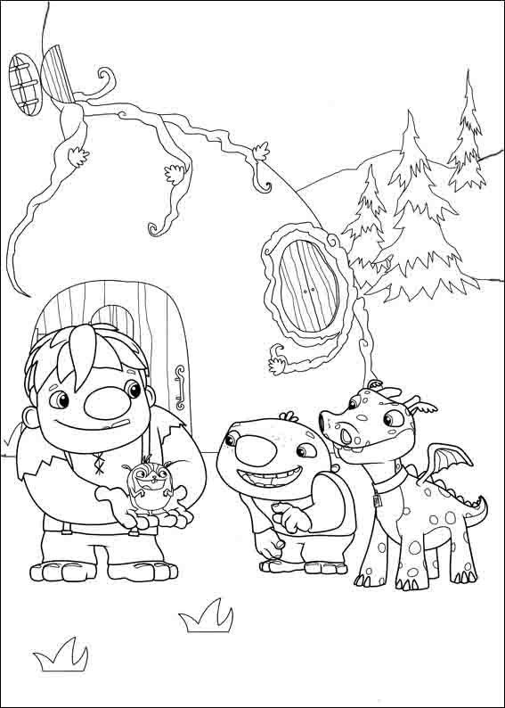 Wallykazam Coloring Pages 8
