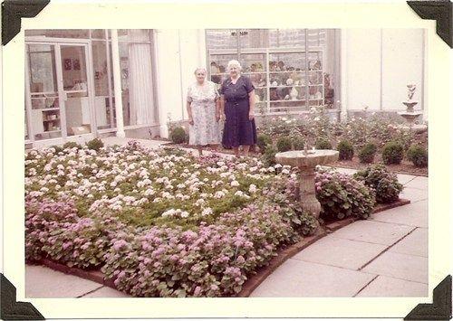 Anna Gentner and Sister Mabel