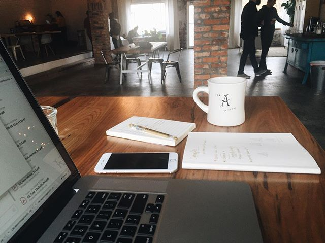 re-up on coffee - re-up on productivity | #fosteratl