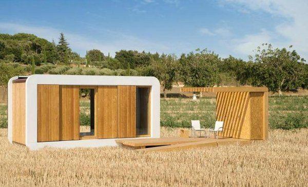 Casas prefabricadas modulares sostenibles noem - Casas prefabricadas barcelona ...