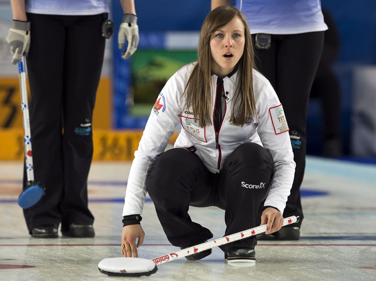 World women's curling championship Canada's Rachel Homan