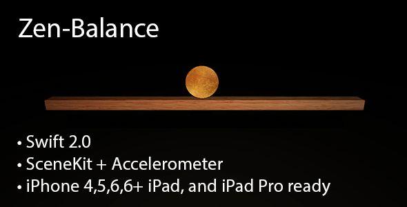 Zen-Balance 3D [Swift 2, SceneKit] | Code Script | Mobile