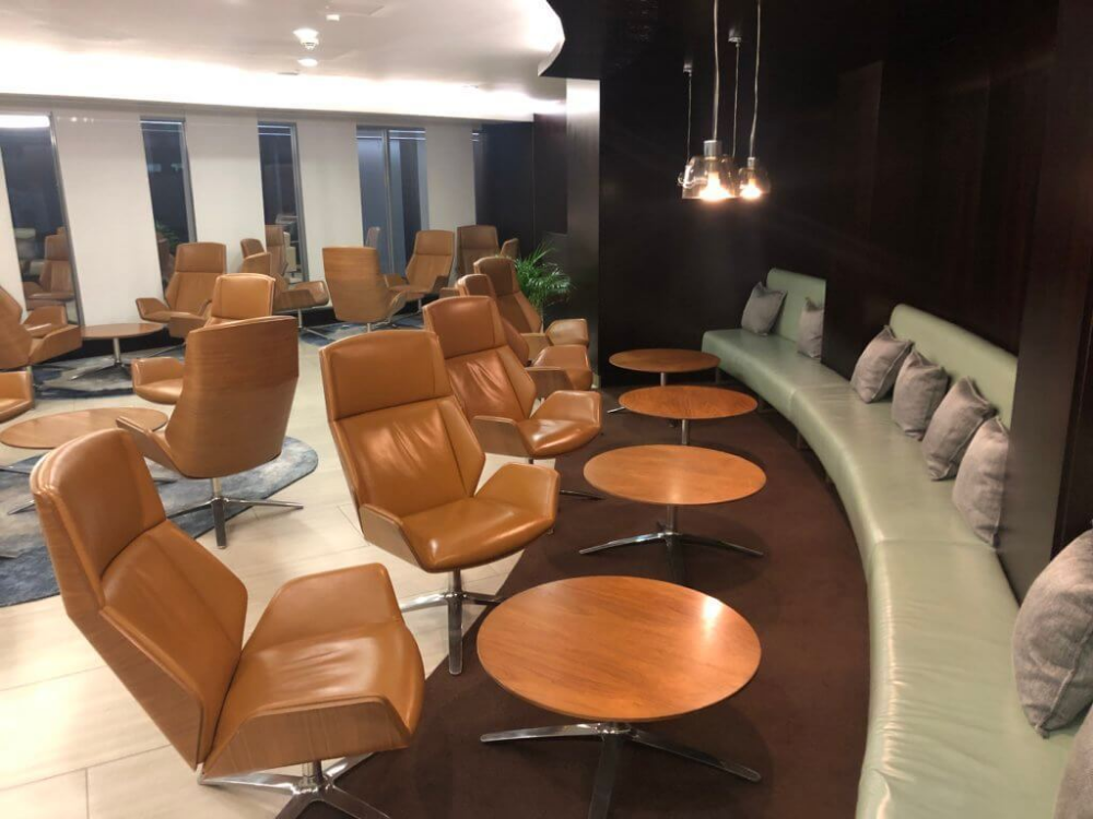 Review 'The House' at London Heathrow T4 Lounge party