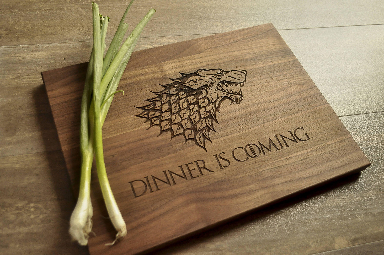 Game Of Thrones Cutting Board Engraved Cutting Board GoT