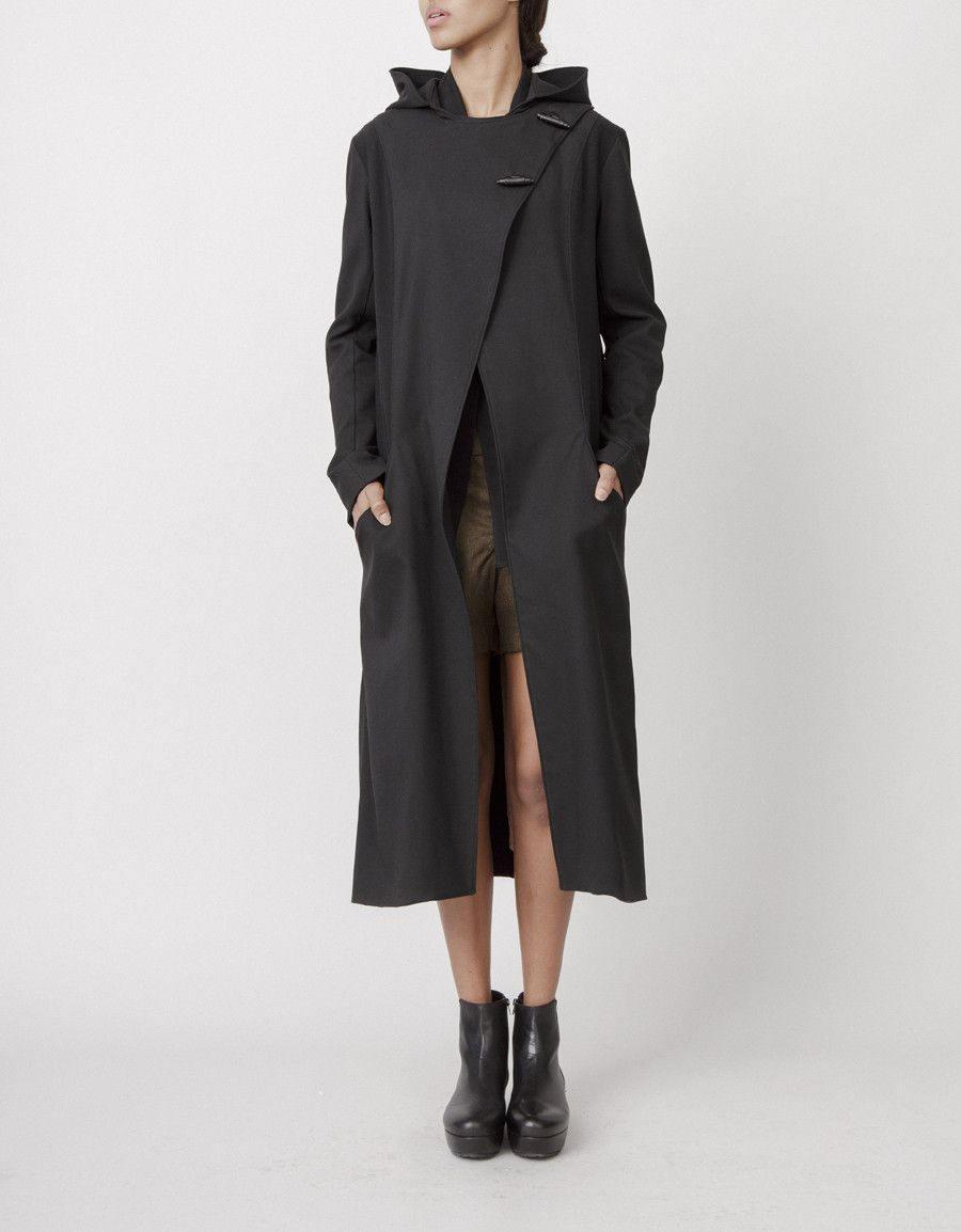 Tilda Hooded Coat by Kara Laricks