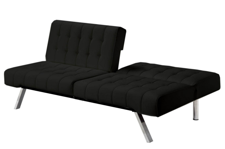 Futons At Ikea Black Emily Looks Very Comfortable Luxury And Modern Style Using Iron Frame