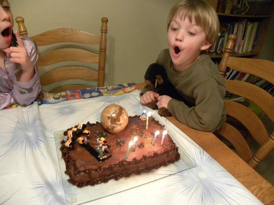 Easy Birthday Cake Ideas Star wars cake Birthday cakes and Basic cake