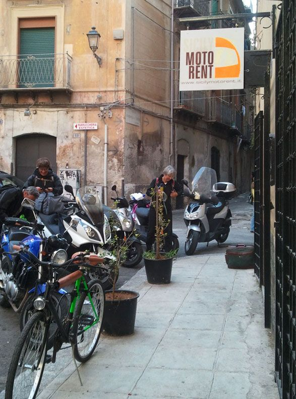 Sicily Moto Rent Motorcycle touring Sicily