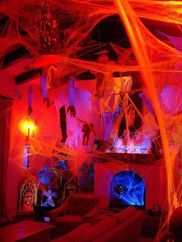 Halloween Home decor by Jeremiah Christopher Exclusive properties - luxury halloween decorations