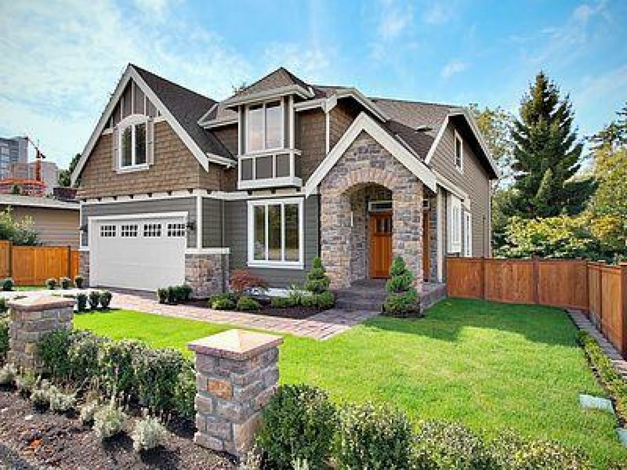 Contemporary Architecture HGTV | Craftsman style houses, Craftsman ...