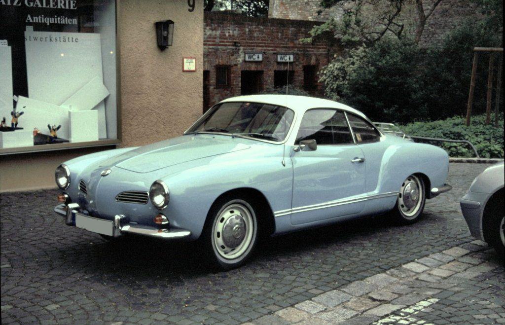 Blue Karman Ghia