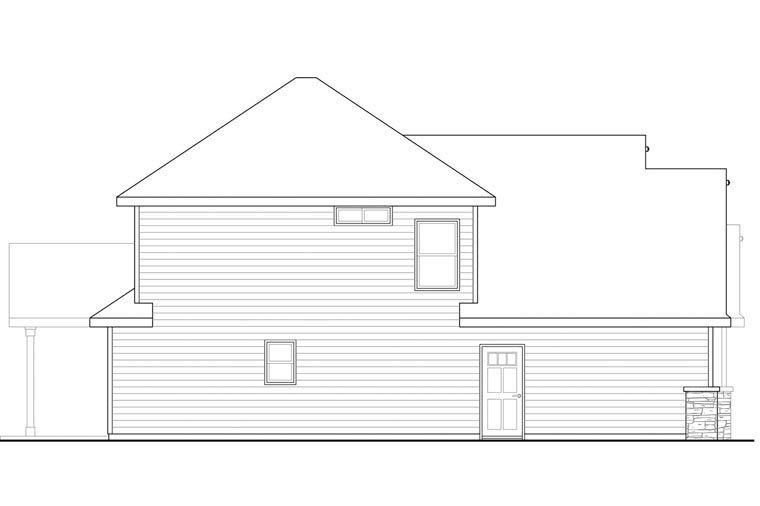 Craftsman Style House Plan 60942 with 3 Bed, 3 Bath, 2 Car Garage #craftsmanstylehomes